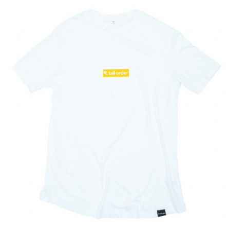 Tall Order Block Logo T-Shirt - White Small